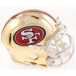 George Kittle Signed San Francisco 49ers Chrome Mini Speed Helmet (Beckett COA)
