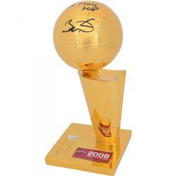 "Dwyane Wade Signed 2006 NBA Champions Replica Larry O'Brien Trophy Inscribed ""06 Finals MVP"" (Fanati"