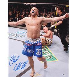 Chuck Liddell Signed UFC 16x20 Photo (Beckett COA)