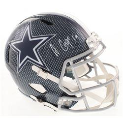 Amari Cooper Signed Dallas Cowboys Full-Size Hydro Dipped Speed Helmet (JSA COA)