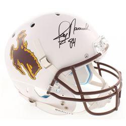 Jay Novacek Signed University of Wyoming Cowboys Full-Size Helmet (Radtke COA)