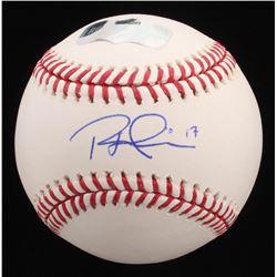 Rhys Hoskins Signed OML Baseball (Radtke Hologram)