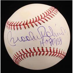 "Brooks Robinson Signed OML Baseball Inscribed ""HOF 1983"" (Radtke Hologram)"