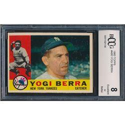 1960 Topps #480 Yogi Berra (BCCG 8)