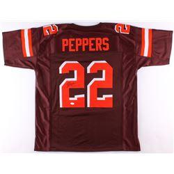 Jabrill Peppers Signed Jersey (JSA COA)