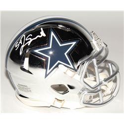 Jaylon Smith Signed Dallas Cowboys Chrome Speed Mini Helmet (Radtke COA)