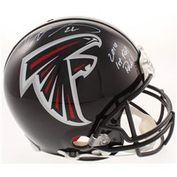 "Keanu Neal Signed Atlanta Falcons Full-Size Authentic On-Field Helmet Inscribed ""2016 1st Rd Pick!"""