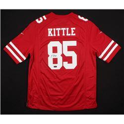 George Kittle Signed San Francisco 49ers Jersey (Radtke COA)