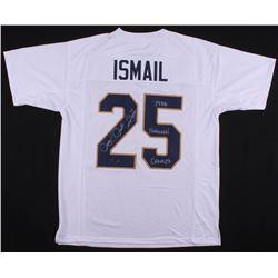 "Raghib ""Rocket"" Ismail Signed Jersey Inscribed ""1988 National Champs"" (Radtke COA)"