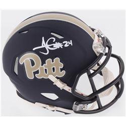 James Connor Signed Pittsburgh Panthers Speed Mini Helmet (Radtke COA)