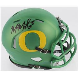 Marcus Mariota Signed Oregon Ducks Speed Mini Helmet (Radtke COA)