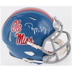 D.K. Metcalf Signed Ole Miss Rebels Speed Mini Helmet (JSA COA)