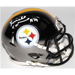 Terrell Edmunds Signed Pittsburgh Steelers Chrome Speed Mini Helmet (Radtke COA)