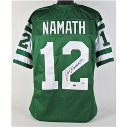 Joe Namath Signed Jersey (Beckett COA  Namath Hologram)