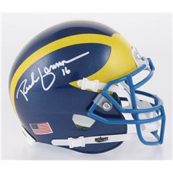 Rich Gannon Signed Delaware Fightin' Blue Hens Mini Helmet (Radtke COA)