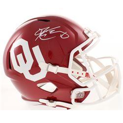Kyler Murray Signed Oklahoma Sooners Full-Size Speed Helmet (JSA COA)