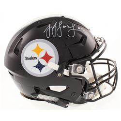 JuJu Smith-Schuster Signed Pittsburgh Steelers Full-Size Authentic On-Field Flex Speed Helmet (Becke