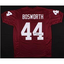 Brian Bosworth Signed Jersey (Beckett COA)