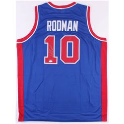 Dennis Rodman Signed Jersey (JSA COA)