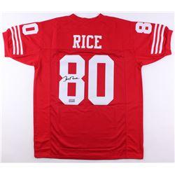 Jerry Rice Signed Jersey (JSA COA  Rice Hologram)