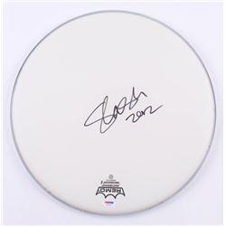 "Slash Signed 14"" Drum Head Inscribed ""2012"" (PSA COA)"