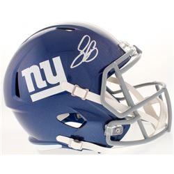 Saquon Barkley Signed New York Giants Full-Size Speed Helmet (JSA COA)
