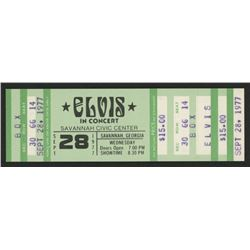 1977  Elvis in Concert  Ticket