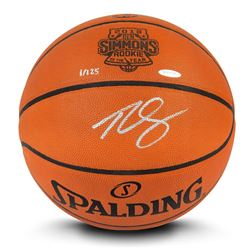Ben Simmons Signed Limited Edition Spalding 2018 Rookie of the Year Basketball (UDA COA)
