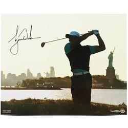 Tiger Woods Signed  Lady Liberty  16x20 Photo (UDA COA)