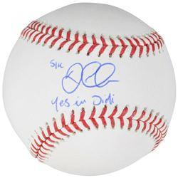 "Didi Gregorius Signed OML Baseball Inscribed ""Yes In Didi"" (Fanatics Hologram  MLB Hologram)"