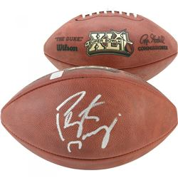 "Peyton Manning Signed ""The Duke"" Super Bowl XLI Logo Official NFL Game Ball (Fanatics Hologram)"