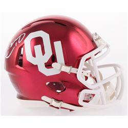 Kyler Murray Signed Oklahoma Sooners Chrome Speed Mini Helmet (JSA Hologram)