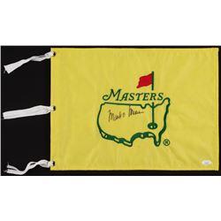 Mark O'Meara Signed Masters Pin Flag (JSA COA)