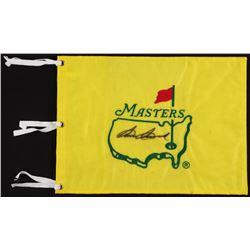 Sam Snead Signed Masters Pin Flag (JSA LOA)