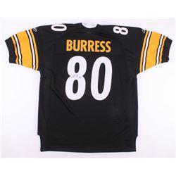 Plaxico Burress Signed Pittsburgh Steelers Reebok Jersey (JSA COA)