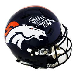 Von Miller Signed Denver Broncos Full-Size Authentic On-Field SpeedFlex Helmet (Radtke COA)