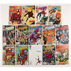 """Lot of (14) 1995-96 """"The Amazing Spider-Man"""" #401-417 Marvel Comic Books"""