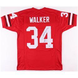 "Herschel Walker Signed Jersey Inscribed ""82 Heisman"" (Beckett COA)"