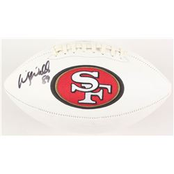 Wesley Walls Signed San Francisco 49ers Logo Football (Radtke COA)