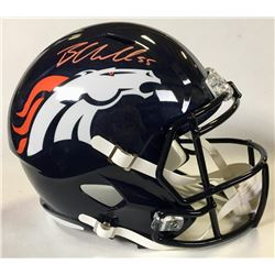 Bradley Chubb Signed Denver Broncos Full-Size Speed Helmet (Beckett COA)