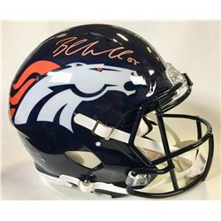 Bradley Chubb Signed Denver Broncos Full-Size Authentic On-Field Speed Helmet (Beckett COA)