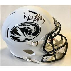 Drew Lock Signed Missouri Tigers Full-Size Speed Helmet (Beckett COA)
