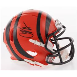 Chad Johnson Signed Cincinnati Bengals Speed Mini Helmet (Radtke COA)