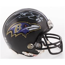Steve Smith Sr. Signed Baltimore Ravens Mini Helmet (Radtke COA)
