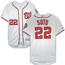 Juan Soto Signed Washington Nationals Jersey (Fanatics Hologram  MLB Hologram)