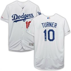 Justin Turner Signed Los Angeles Dodgers Jersey (Fanatics Hologram  MLB Hologram)