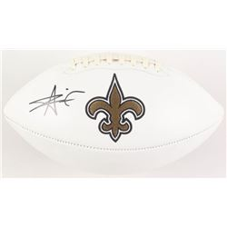 Alvin Kamara Signed New Orleans Saints Logo Football (Radtke COA)