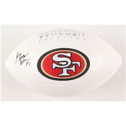 George Kittle Signed San Francisco 49ers Logo Football (Beckett COA)