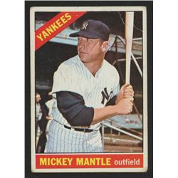1966 Topps #50 Mickey Mantle