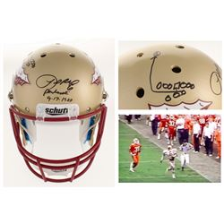 "LeRoy Butler Signed Florida State Seminoles Full-Size Helmet Inscribed ""Puntrooskie""  ""9-17-1988"" wi"